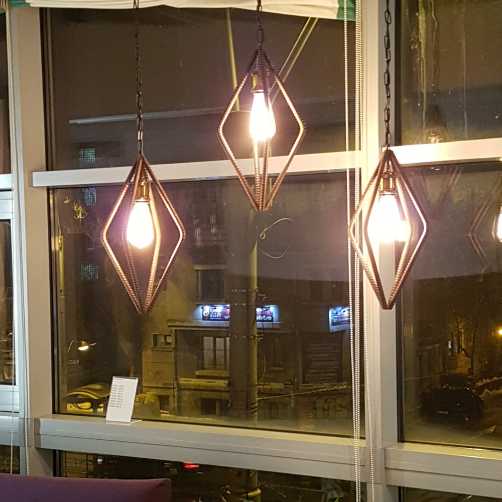 Lampa Industriala Rebar 3X
