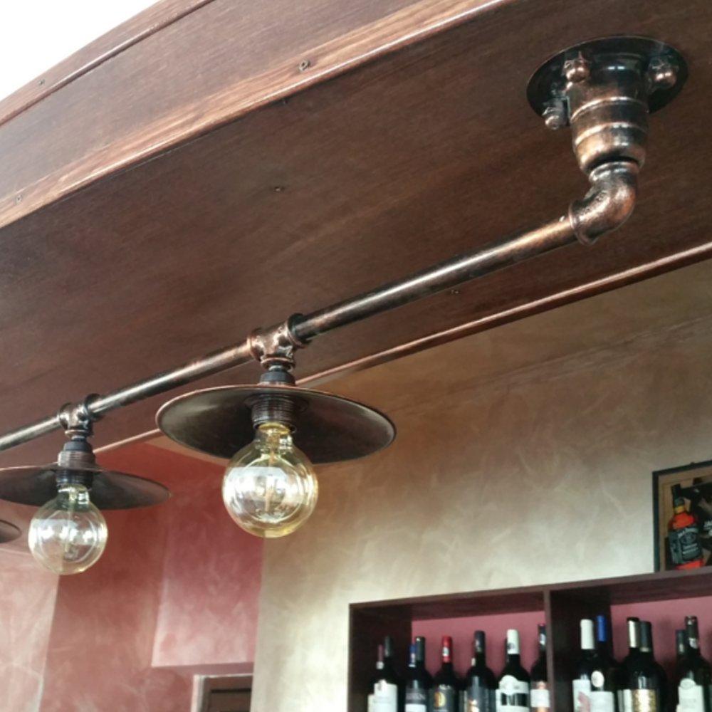 lampa industriala pentru bar