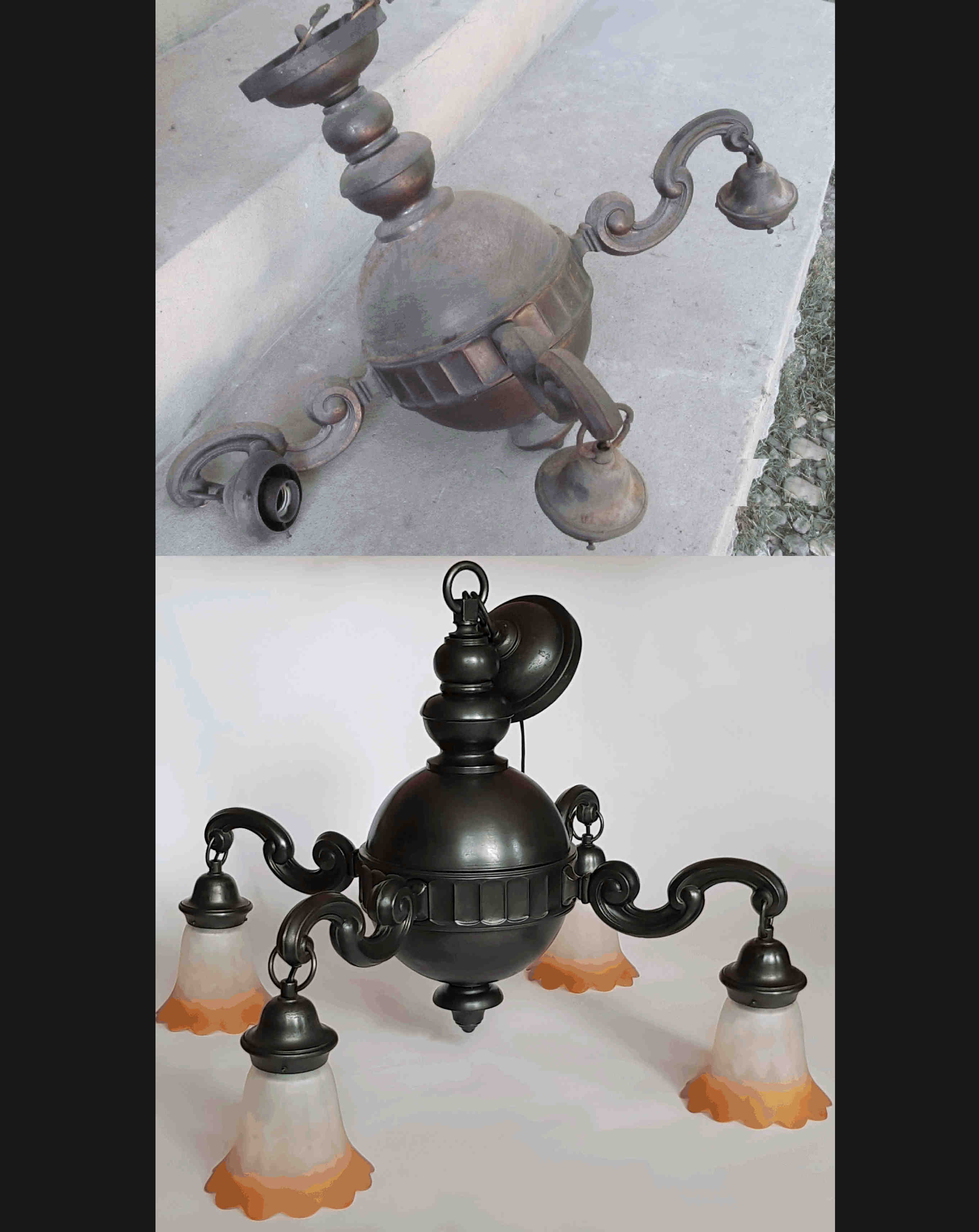 restaurare candelabre